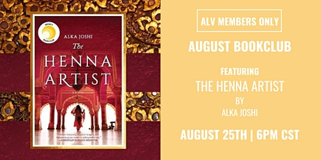 ALV Members Only August Book Club tickets
