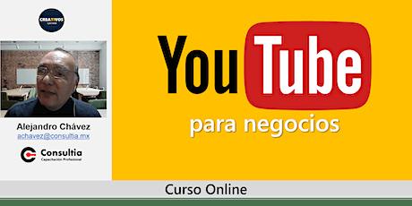 Curso de YouTube para negocios boletos