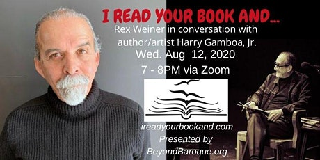 I Read Your Book And...with Harry Gamboa, Jr. tickets