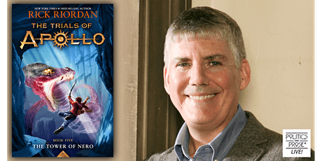 P&P Live! Rick Riordan   THE TOWER OF NERO with Yoon Ha Lee tickets