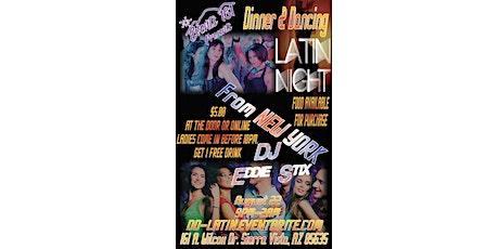 Dinner & Dancing: Latin Night tickets