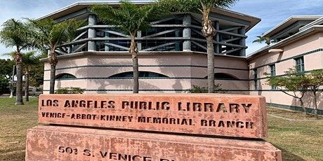 Venice- Abbot Kinney Memorial Library Weekly Calendar of Distance Events tickets