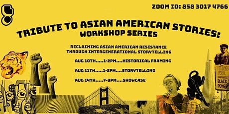 Tribute to Asian American Stories: Workshop Series tickets