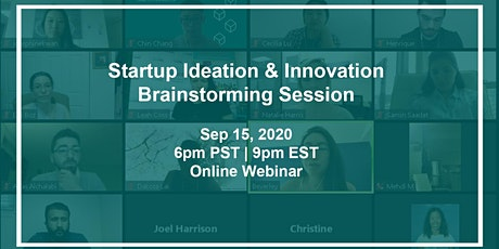 Startup Ideation & Innovation Brainstorming Session tickets