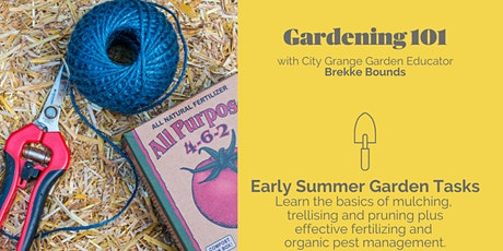 Late Summer Garden Tasks - ONLINE Class tickets