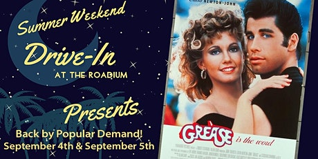 GREASE: End of Summer Weekend Drive-In at the Roadium tickets
