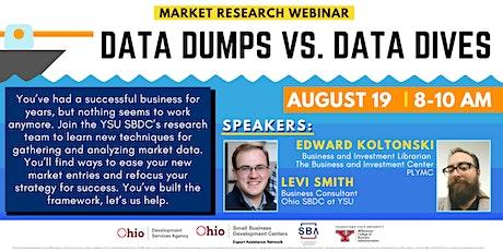 Data Dumps vs. Data Dives tickets