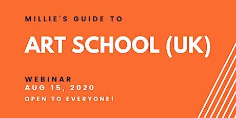 WEBINAR | Millie's Guide to Art School (UK) tickets