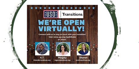 USO Transition Specialist Office Hours tickets