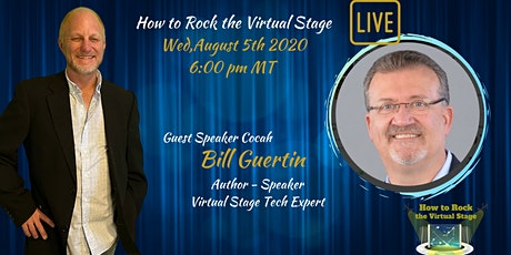 How To Rock The Virtual Stage Live tickets