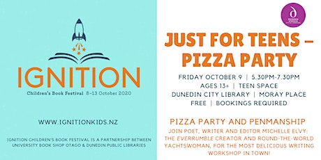 Pizza Party and Penmanship tickets