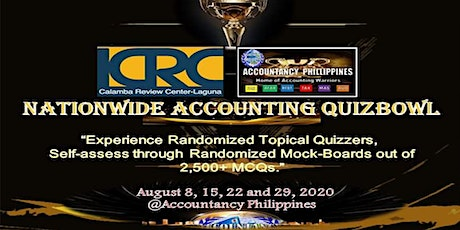 LCRC & Accountancy Philippines Nationwide Accounting Quiz Bowl - Extended tickets