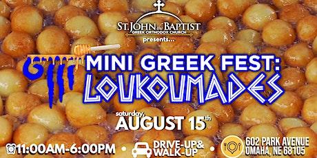 Mini Greek Fest: Loukoumades tickets