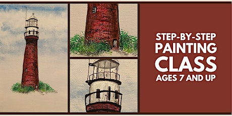 Step-by-Step Painting Class: St. Johns River Light tickets