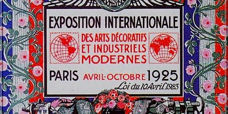 French Art Deco Online Art Lecture tickets