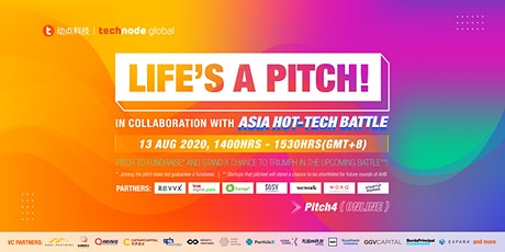 Life's A Pitch! x Asia Hot-tech Battle tickets