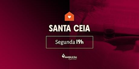 SANTA CEIA - 03/08/2020 ingressos