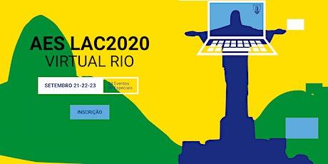 AES LAC 2020 - Inscrição ingressos