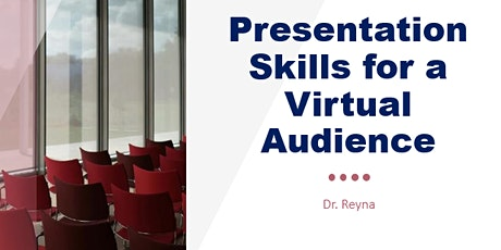 Presentation Skills for a Virtual Audience tickets