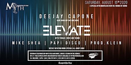 Elevate at Myth Nightclub | Saturday 08.15.20 tickets