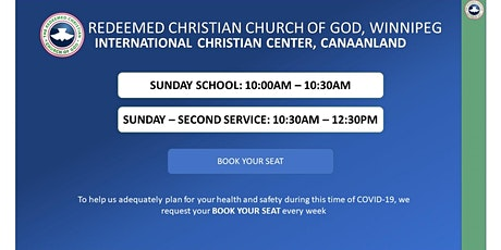 Sunday - Second Service tickets