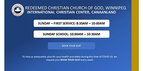 Sunday - First Service tickets