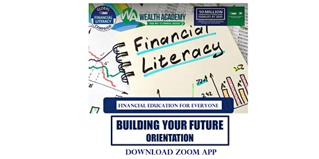 ONLINE FINANCIAL SEMINAR: Building Your Future, August 31, Monday, 7:45PM tickets