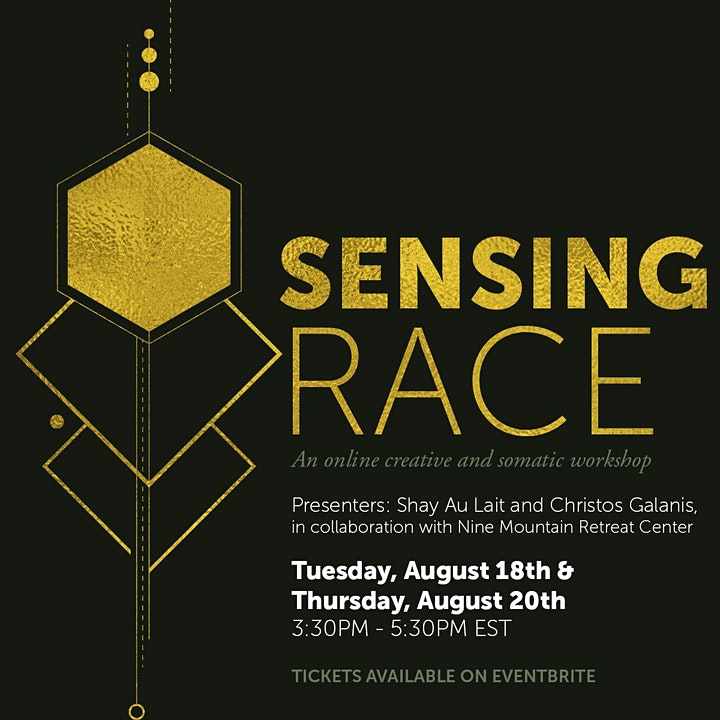 Sensing Race: A 2-Day Experience Making Sense of  Race (Aug 18th & 20th) image