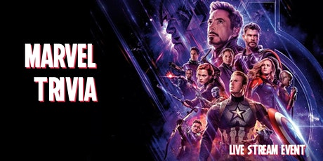 Marvel Trivia (Streamed) - $100s in Prizes & Costume Contests! tickets