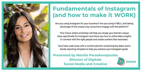 Fundamentals of Instagram (and how to make it WORK) tickets