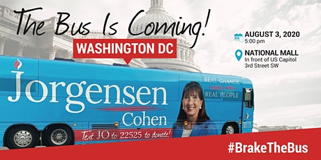BUS TOUR:  Dr. Jo Jorgensen is coming to Washington, D.C. tickets