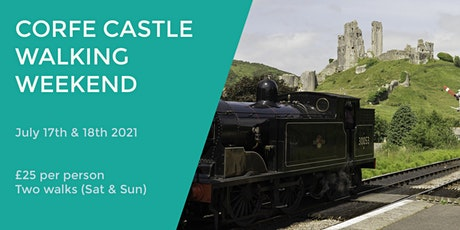 CORFE CASTLE WALKING WEEKEND tickets