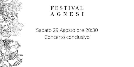 Concerto Conclusivo biglietti