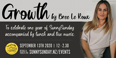 Growth by Bree Le Roux tickets