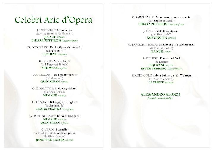 Immagine Celebri Arie d'Opera
