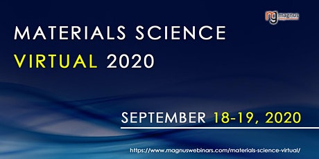 Materials Science Virtual 2020 tickets