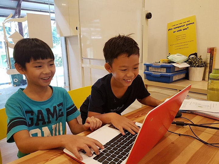 [Fri 4pm] The Ultimate Ninja Coding Trial Class for Kids Ages 9 to 14 image
