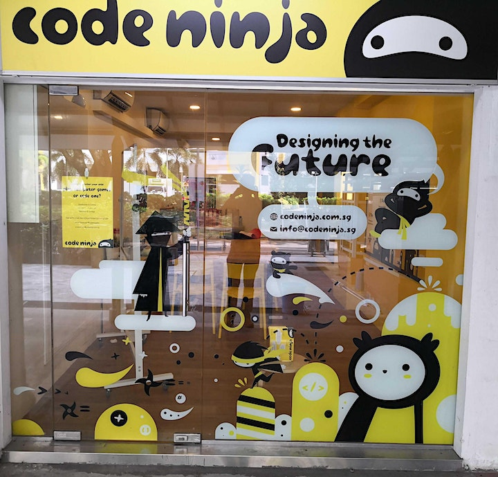[Sat 10am] The Ultimate Ninja Coding Trial Class for Kids Ages 9 to 14 image
