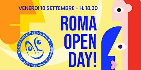 Open Day - Roma biglietti