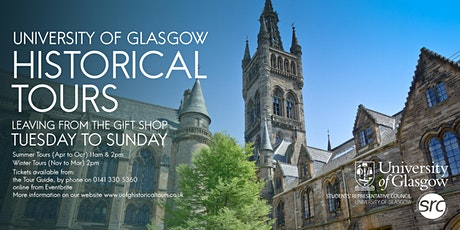 University of Glasgow Tours tickets