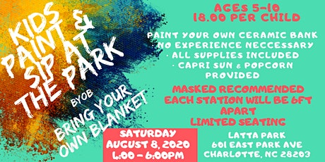 Kids Paint & Sip In The Park tickets