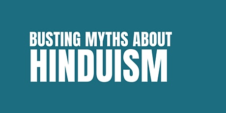 'Busting myths about Hinduism' tickets
