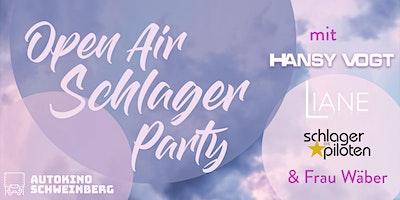 Open Air Schlager Party mit Liane, Hansy Vogt, Frau Wäber, Schlagerpiloten