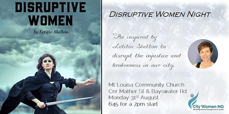 Disruptive Women Night - a special event with Letitia Shelton tickets