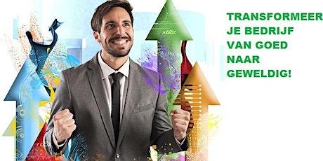 Masterclass voor ondernemers met GROEI AMBITIE tickets