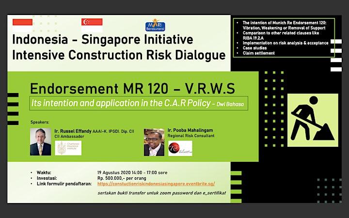 Indonesia - Singapore Initiative  - Intensive Construction Risk Dialogue image