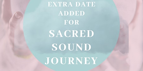 Sacred sound journey tickets