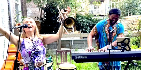 Free 21st Duo Laroo/Byrd live & streamed Friday Feelgood Concert tickets