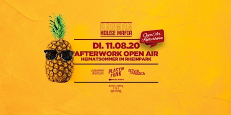 GERMAN HOUSE MAFIA - Das Afterwork Open Air Tickets