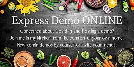 Experience de cuisine en ligne billets